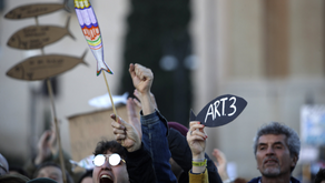Fed Up With Far Right, Italy's 'Sardines' Protests Call For Civility And Equality