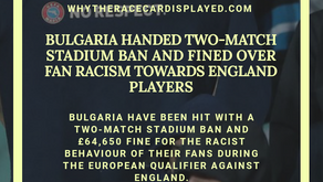 Bulgaria handed two-match stadium ban and fined over fan racism towards England players