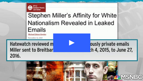 E-mails show racism Stephen Miller brought to Trump White House