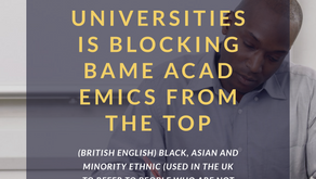 Racism in UK universities is blocking BAME academics from the top