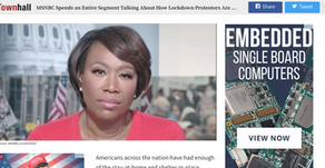 MSNBC Spends an Entire Segment Talking About How Lockdown Protestors Are Racist Confederates