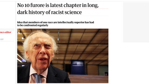 No 10 furore is latest chapter in long, dark history of racist science