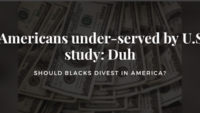African Americans under-served by U.S. banks: study: Duh