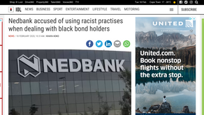 Nedbank accused of using racist practises when dealing with black bond holders
