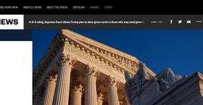 In 5-4 ruling, Supreme Court allows Trump plan to deny green cards to those who may need government