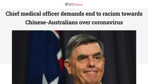 Chief medical officer demands end to racism towards Chinese-Australians over coronavirus