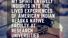 'Before they kill my spirit entirely': insights into the lived experiences of American Indian Alaska