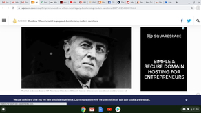 Woodrow Wilson's racist legacy and decolonising modern sanctions