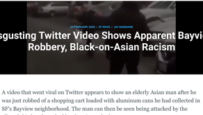 Disgusting Twitter Video Shows Apparent Bayview Robbery, Black-on-Asian Racism