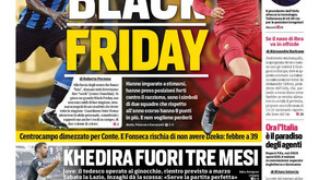 Italian newspaper faces backlash for 'Black Friday' headline with Lukaku and Smalling