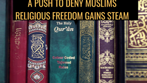 A Push to Deny Muslims Religious Freedom Gains Steam