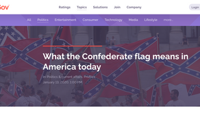 What the Confederate flag means in America today