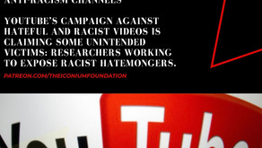 YouTube's purge of white supremacist videos also hits anti-racism channels