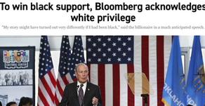 To win black support, Bloomberg acknowledges white privilege