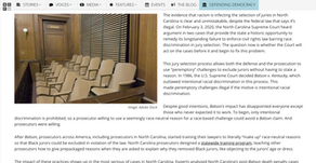 The N.C. Supreme Court must stop racism in jury selection