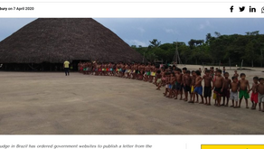 Indigenous group wins unprecedented right of reply to Bolsonaro's racist invective