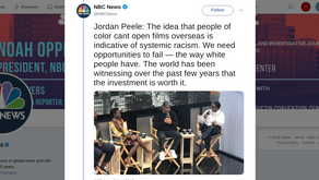 People of color cant open films overseas