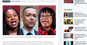 Group of Labour staffers try to block support for BAME MPs named in leaked report as racism