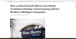 How a school board's Black Lives Matter resolution claiming 'racist housing policies' divided a Mich