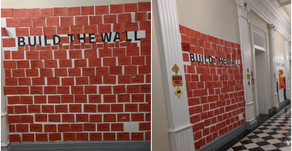 (VIDEO) Children were told to 'build the wall' at White House Halloween party