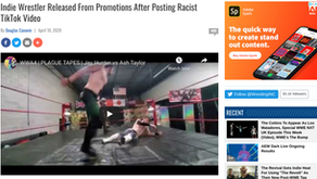 Indie Wrestler Released From Promotions After Posting Racist TikTok Video