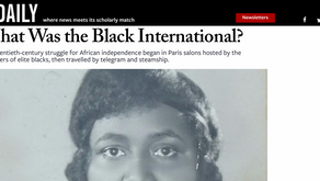What Was the Black International?