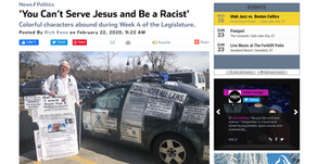 'You Can't Serve Jesus and Be a Racist'