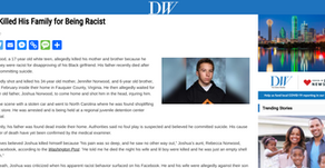 Teen Killed His Family for Being Racist