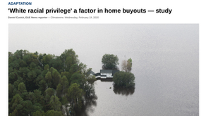 'White racial privilege' a factor in home buyouts — study