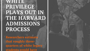 How white privilege plays out in the Harvard admissions process