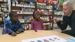 ANDERSON COOPER GIVES KIDS THE 'SKIN COLOR' TEST