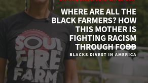 Where are all the black farmers? How this mother is fighting racism through food