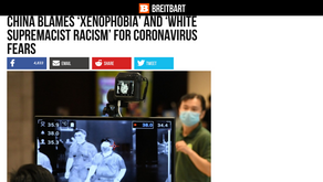 China Blames 'Xenophobia' and 'White Supremacist Racism' for Coronavirus Fears
