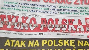 Polish newspaper runs front page list on 'how to spot a Jew'