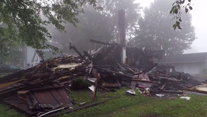 An interracial couple's house mysteriously exploded in Ohio. Investigators found a swastika and raci