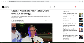 Greene, who made racist videos, wins GOP nod in Georgia