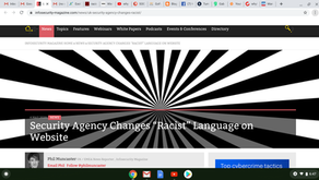 "Security Agency Changes ""Racist"" Language on Website"