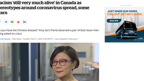 Racism 'still very much alive' in Canada as stereotypes around coronavirus spread, some warn