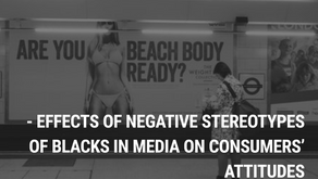 A multilevel meta-analysis of effects of negative stereotypes of blacks in media on consumers' attit