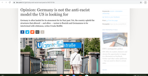 Opinion: Germany is not the anti-racist model the US is looking for