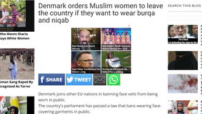 Denmark orders Muslim women to leave the country if they want to wear burqa and niqab