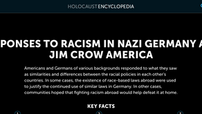 RESPONSES TO RACISM IN NAZI GERMANY AND JIM CROW AMERICA