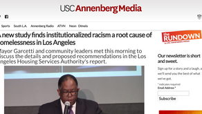 A new study finds institutionalized racism a root cause of homelessness in Los Angeles