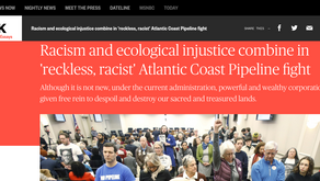 Racism and ecological injustice combine in 'reckless, racist' Atlantic Coast Pipeline fight