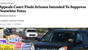 Appeals Court Finds Arizona Intended To Suppress Nonwhite Votes