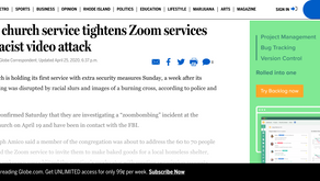 Salem church service tightens Zoom services after racist video attack