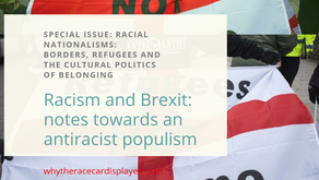 Racism and Brexit: notes towards an antiracist populism