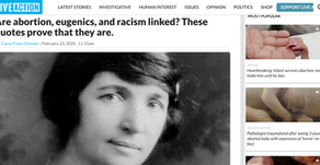 Are abortion, eugenics, and racism linked? These quotes prove that they are.