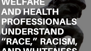 "How Social Welfare and Health Professionals Understand ""Race,"" Racism, and Whiteness:"