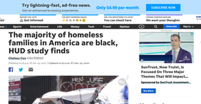 The majority of homeless families in America are black, HUD study finds